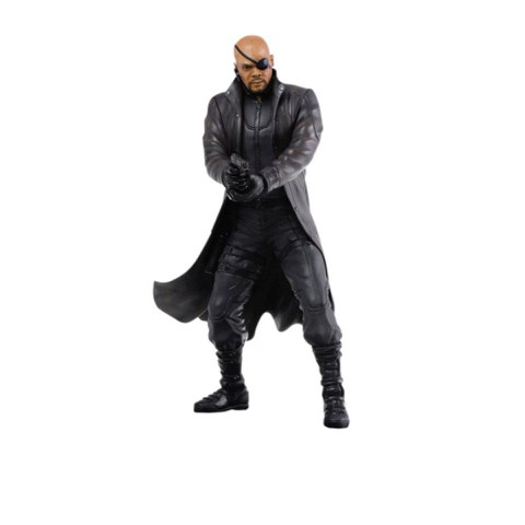 Dragon Action Heroes Marvel Captain America Nick Fury 1:9 Scale Figure