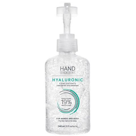Concentrado hialurónico manos y cuerpo Hyaluronic Concentrate HAND CHEMISTRY (240ml)