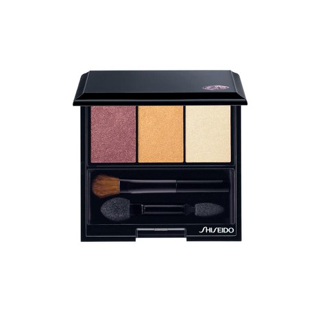 Shiseido Luminizing Satin Eye Color Trio RD299 - Beach Grass 3g