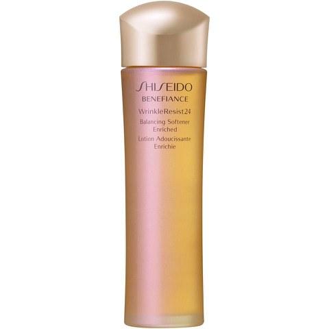Loción equilibrante antiarrugas Shiseido Benefiance WrinkleResist 24 Enriched Balancing Softener (150ml)