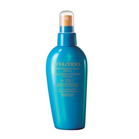 Spray protector oil-free Shiseido Sun Protection (150ml)