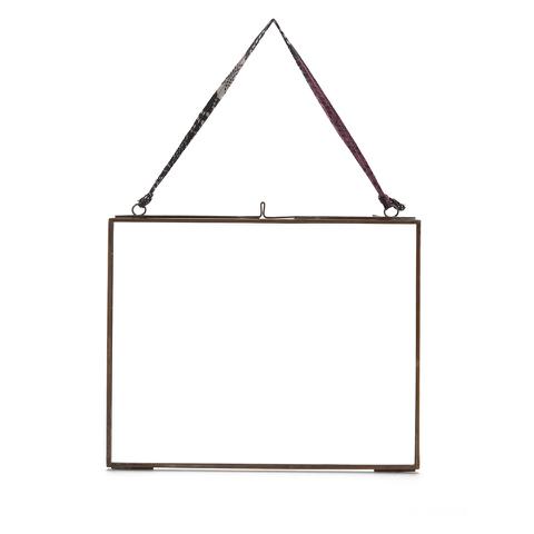Nkuku Kiko Glass Frame - Antique Copper - Landscape 8