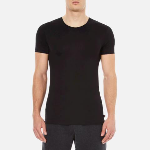 Derek Rose Men's Jack 1 Crew Neck T-Shirt - Black