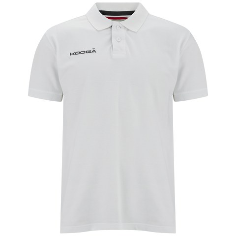 Kooga Men's Pique Polo Shirt - White