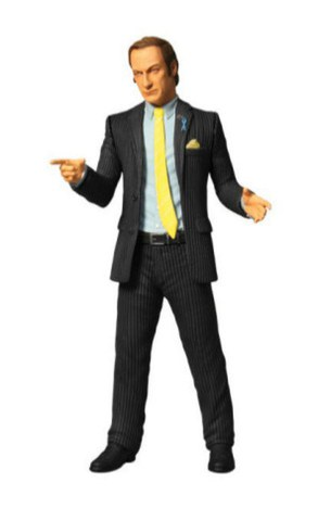 Breaking Bad Saul Goodman 6 Inch Action Figure