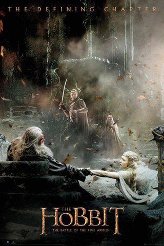 The Hobbit Battle of Five Armies Aftermath - Maxi Poster - 61 x 91.5cm