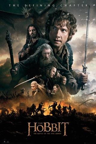 The Hobbit Battle of Five Armies Fire - Maxi Poster - 61 x 91.5cm