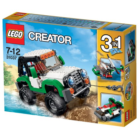 LEGO Creator: Adventure Vehicles (31037)