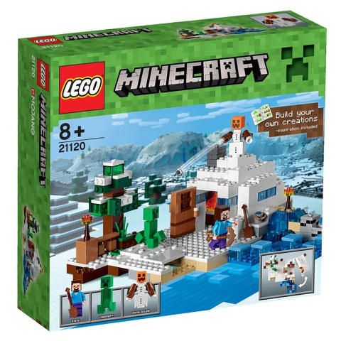 LEGO Minecraft: The Snow Hideout (21120)