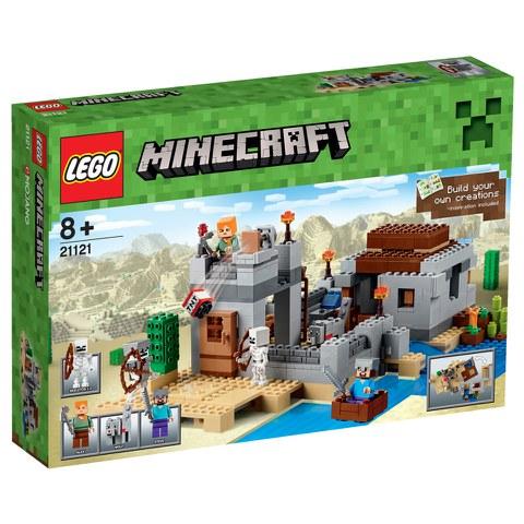 LEGO Minecraft: Der Wüstenaußenposten (21121)