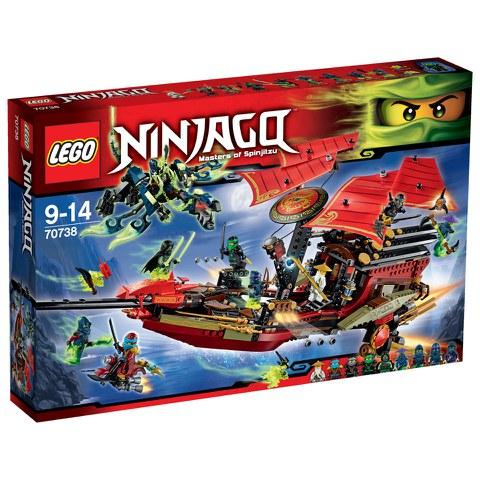 LEGO Ninjago: Laatste vlucht van de Destiny's Bounty (70738)