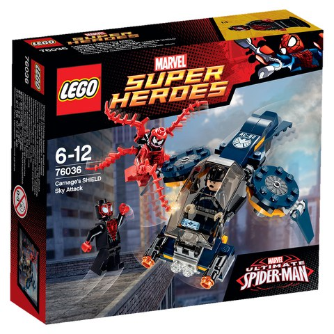 LEGO Super Heroes: Carnage's SHIELD Sky Attack (76036)