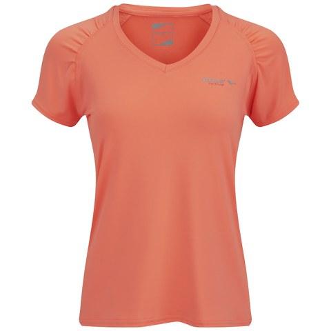 Gola Women's Felix Short Sleeve Training T-Shirt - Fluoro Coral