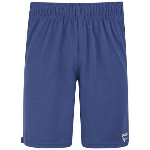 Gola Men's Field Block Football Shorts - True Blue/White