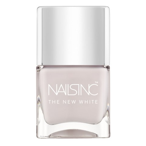 nails inc. White Horse Street The New White Nail Varnish (14ml)