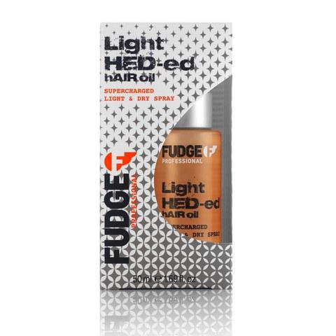 Aceite-spray en seco Fudge Light Hed-ed
