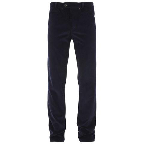Private White VC Men's Cotton-Corduroy Beatle Jeans - Navy
