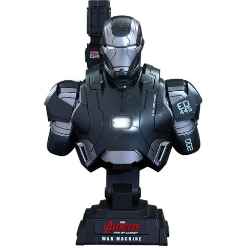 Hot Toys Marvel Age of Ultron War Machine Mark II 1:4 Scale Bust