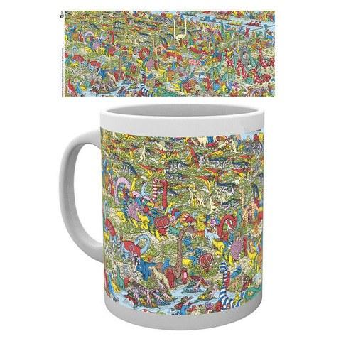 Where's Wally Jurassic Games Mug