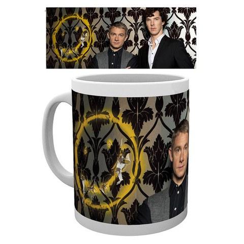 Sherlock Smiley - Mug