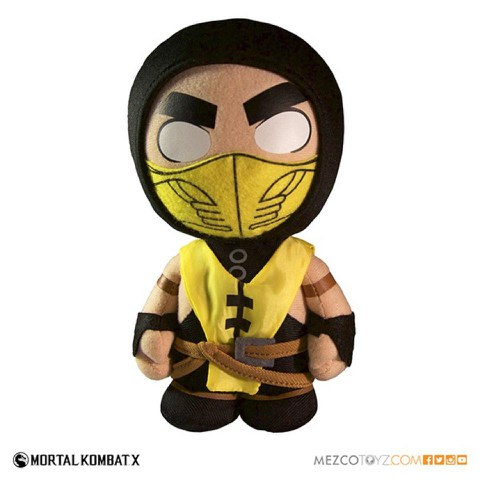 Mortal Kombat X Scopian Plush Figure