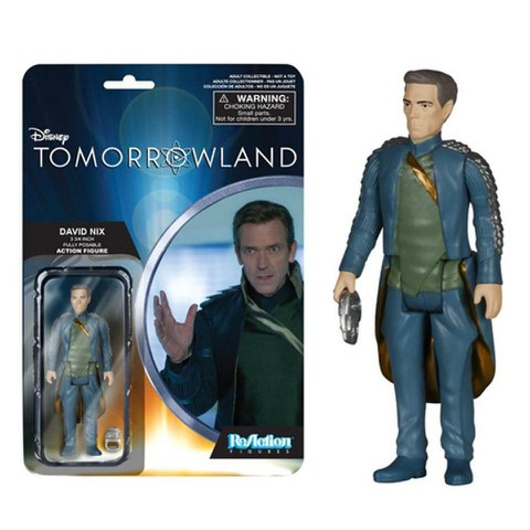 ReAction Disney Tomorrowland David Nix 3 3/4 Inch Action Figure