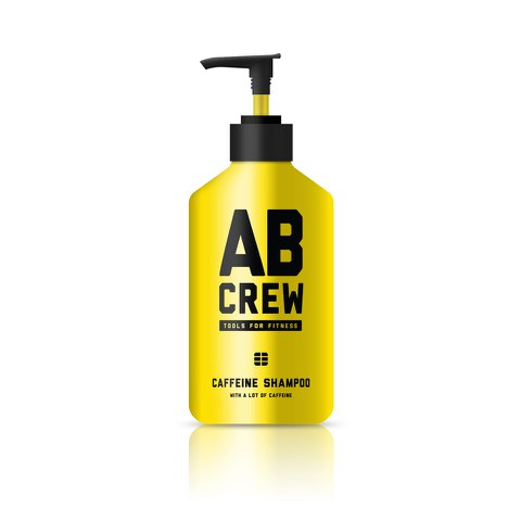 AB CREW Men's Caffeine Shampoo (480ml)
