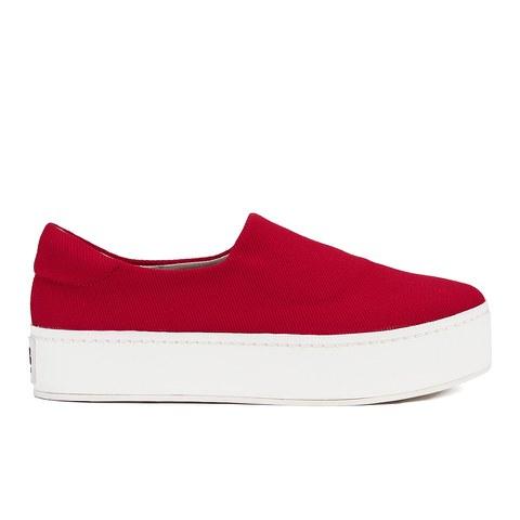 Opening Ceremony Women's Slip On Platform Sneakers - Red