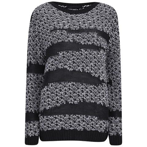 Karl Lagerfeld Women's Mae Sweatshirt - Black