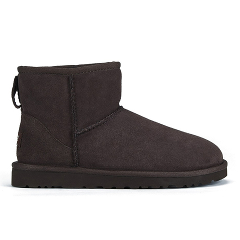 UGG Women's Classic Mini Sheepskin Boots - Chocolate