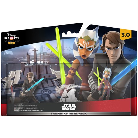 Disney Infinity 3.0: Star Wars Twilight Of The Republic Play Set