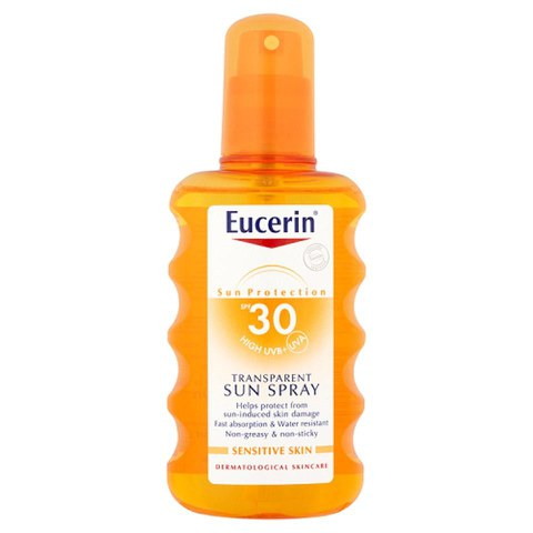 Eucerin® Sun Protection SPF 30 Transparent Sun Spray (200ml)