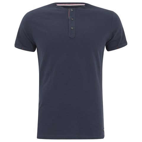 Produkt Men's OEK New Grandad Buttoned T-Shirt - Dress Blue
