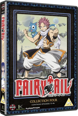 Fairy Tail Collection Four (Episodes 73-96)