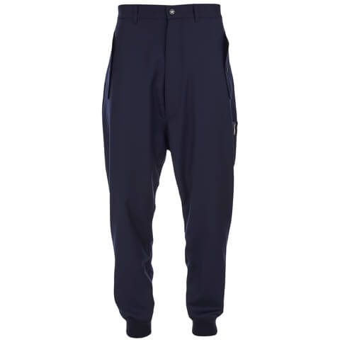 Vivienne Westwood MAN Men's Merino Flannel MA-1 Jogging Sweatpants - Navy Melange