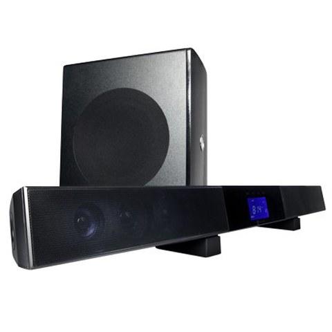 Current Audio SB65 40 Watt Amplified Soundbar & Wireless Subwoofer
