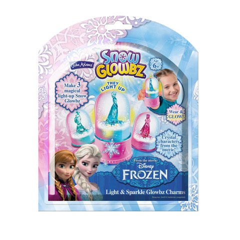 John Adams Disney Frozen Snow Glowbz Light and Sparkle Globe Charms