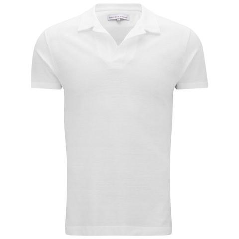 Orlebar Brown Men's Felix Pique T-Shirt - White