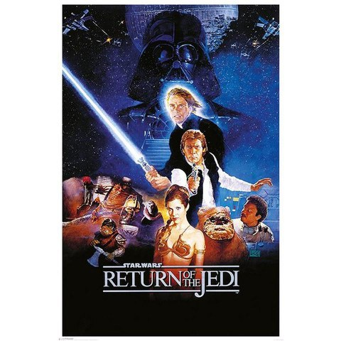 Star Wars Return Of The Jedi One Sheet - 24 x 36 Inches Maxi Poster