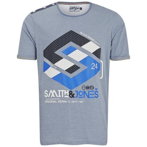 Smith & Jones Men's Stoneleigh T-Shirt - Infinity Blue