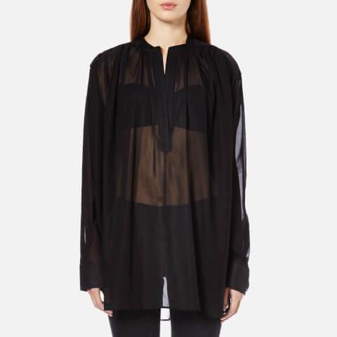 Helmut Lang Women's Poet Shirt - Black