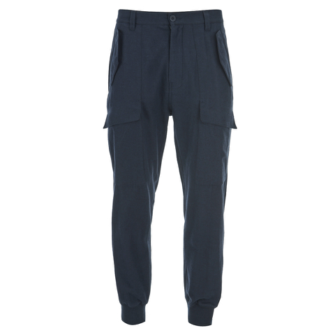 Helmut Lang Men's Exposed Pocket Joggers - Ink