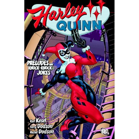 DC Comics Harley Quinn Preludes and Knock Knock Jokes Paperback Graphic Novel
