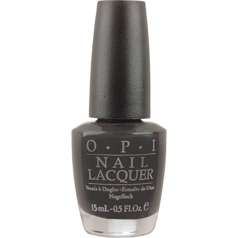 OPI Classic Nail Lacquer - Lady in Black (15ml)