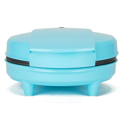 Gourmet Gadgetry Vintage Tea Party Ice Cream Cone and Waffle Dish Maker - Blue