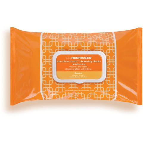 OLE HENRIKSEN CLEAN TRUTH CLEANSING CLOTHS EXCLUSIVE