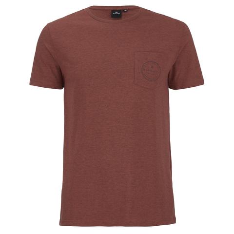 Rip Curl Men's Zinc Pocket T-Shirt - Rusty Brass Marl