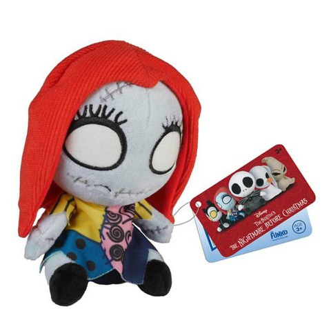 Mopeez Disney Nightmare Before Christmas Sally Skellington Plush Figure
