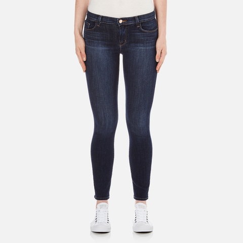 J Brand Women's 811 Mid Rise Skinny Jeans - Oblivion