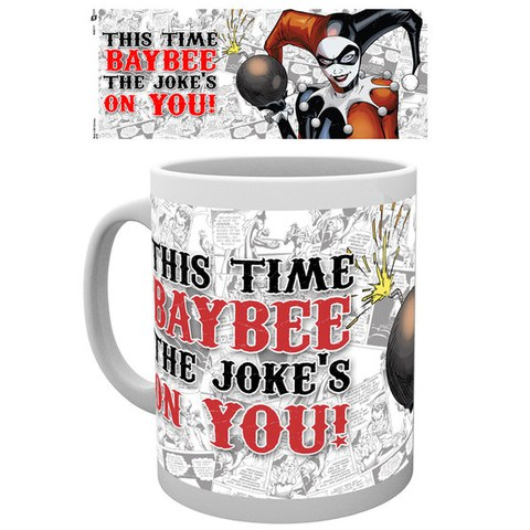 DC Comics Batman Harley Quinn Jokes on You - Mug